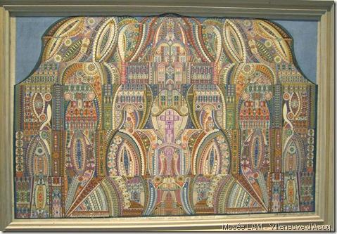 augustin lesage-1941-composition symbolique sur le monde spirituel