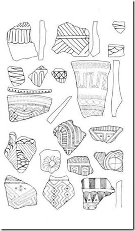 exemples de motifs de poterie Lapita