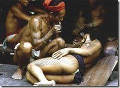 tatouage mentawai
