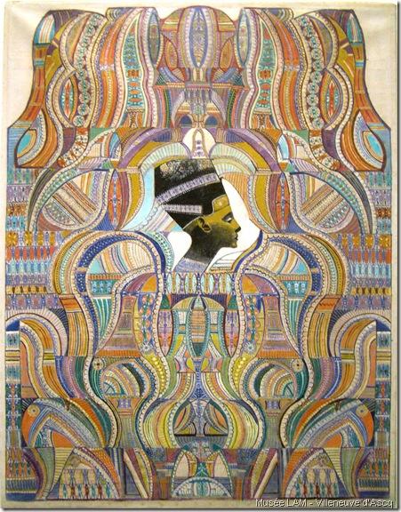 la derniere peinture d'Augustin Lesage-1952