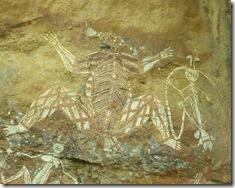 peinture aborigène rupestre