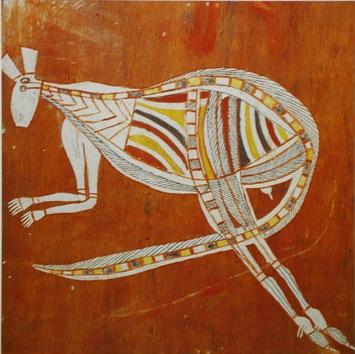 Les aborig nes d 39 australie peignent pour faire vivre le - Peinture effet serpent ...