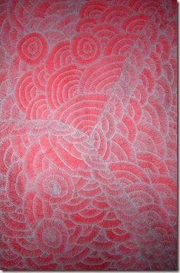 Lilly Sandover KNGWARREYE--1999-peinture aborigène