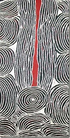 Ningura NAPURRULA-2005-peinture aborigène