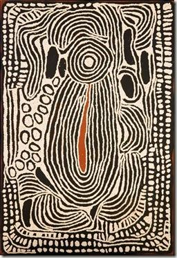 de Ningura NAPURRULA -2008-peinture aborigène