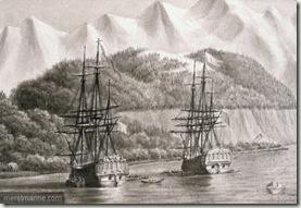 la boussole et l'astrolabe à port des français