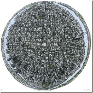 Le Globe de New York-stephenwiltshire.co.uk