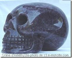 Le crâne d'Améthyste ou Ami