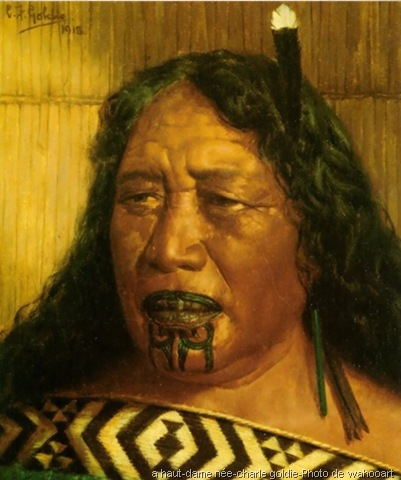 Les Maoris L Art Du Tatouage Facial Ta Moko Wonderful Art Ou L