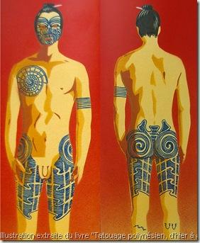 tatouage complet d'un gerrier maori