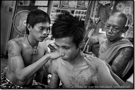 sak-yant- tatouage thaï traditionnel