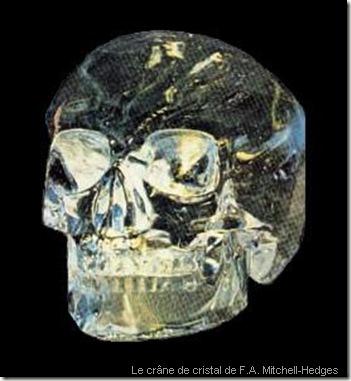 Le crâne de cristal de F.A. Mitchell-Hedges