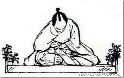 harakiri Armure Samurai