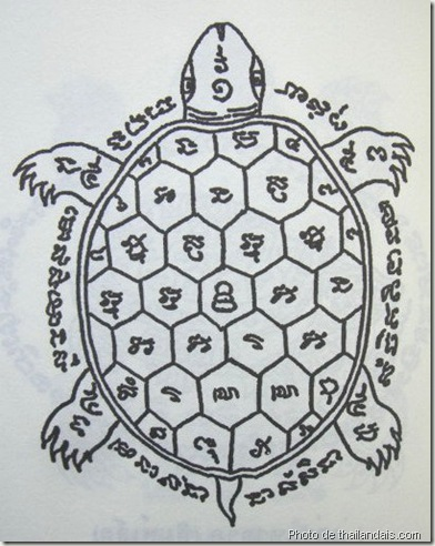 yan-paya-thao-ruean tortue-tatouage thaï traditionnel