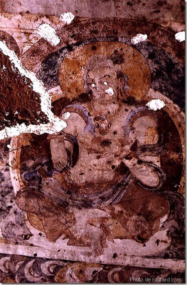 fresque de bamiyan