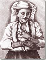tattoo chrétien 011-tatouage moderne de catholique des balkans