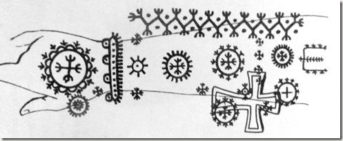 tattoo chrétien 012-tatouage moderne de catholique des balkans