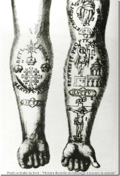 tattoo-chrétien-bras-tatoué-de-Otto-Friedrich-von-der-Göben