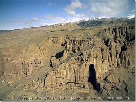 vallée de bamiyan en 2007
