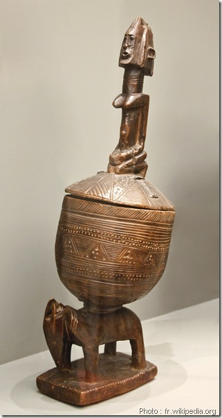 Coupe de hogon - Mali - Musee du quai Branly, Paris