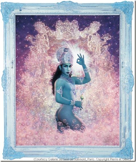 Pierre et gilles Krishna 2000 modele Tao