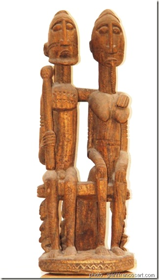 couple originel-Art dogon