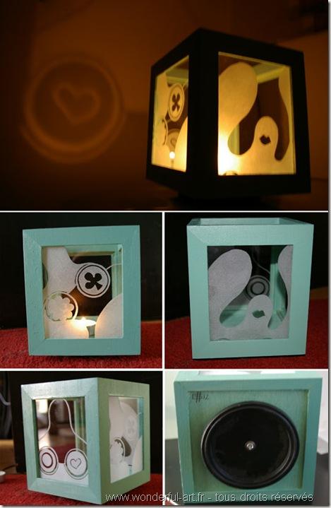 lampe-mama-eclairee-photophore-gravure sur verre-www.wonderful-art.fr-référence à nicky de saint phalle