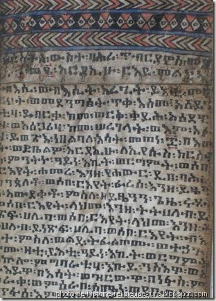 rouleau magique d'éthiopie