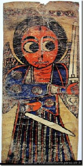 rouleau magique d'éthiopie-age à l'épée
