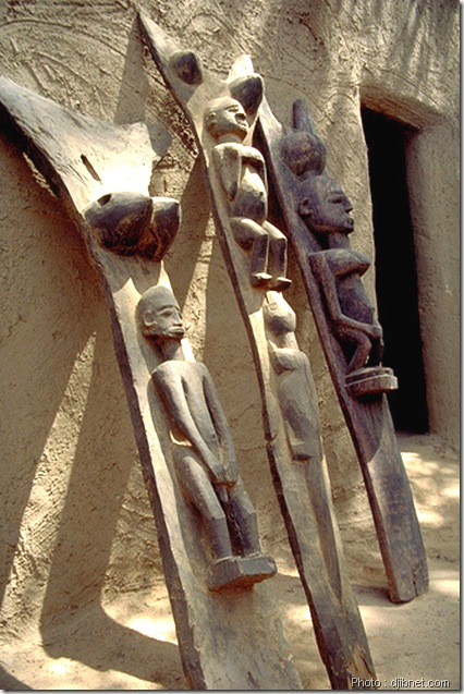 art dogon-sculpture en bois