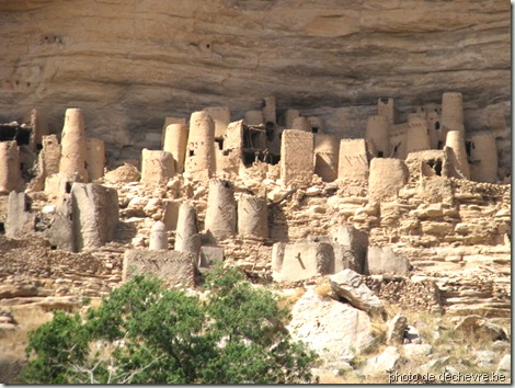 village d'ireli - Mali-pays dogon-art dogon