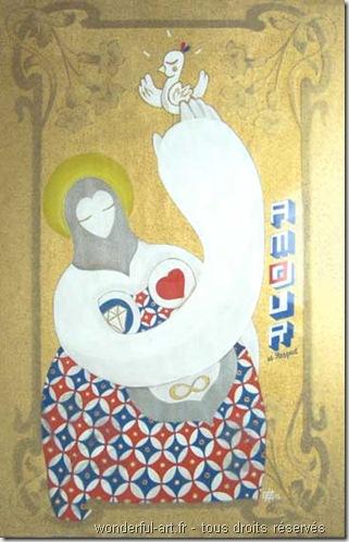 peinture symbolique - art sacré - art contemporain - www.wonderful-art.fr - les mamas