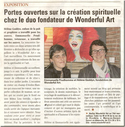 21.10.12- article voix du nord expo WA