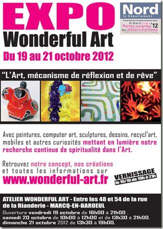 affiche A4 ouverture atelier d'artiste.ai