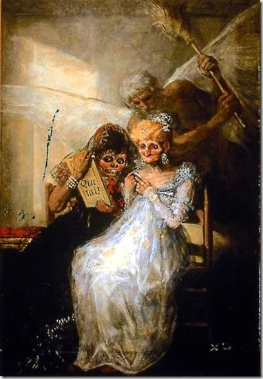 les vieilles de Francisco de Goya
