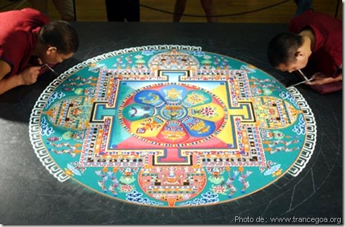 mandala en cours d'execution - www.wonderful-art.fr
