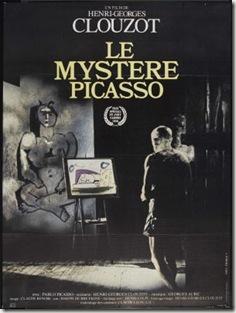 pochette du film le Mystere de Picasso