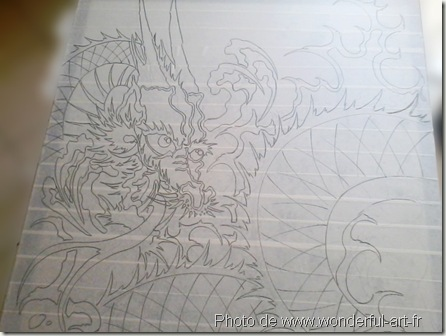 dessin dragon orientale-www.wonderful-art.fr