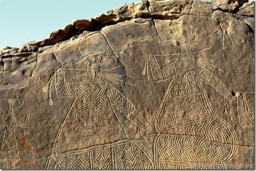 gravure ennedi plateau tchad