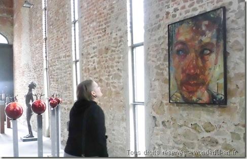 la grange-Exposition Parcours d'artistes de Beloeil - www.wonderful-art.fr