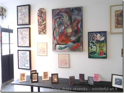 Exposition Parcours d'artistes de Beloeil - www.wonderful-art.fr