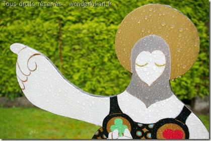 santa mama - Exposition Parcours d'artistes de Beloeil - hélène Goddyn - www.wonderful-art.fr