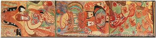 aloise corbaz-art brut-www.wonderful-art.fr-le cloisonné théatre