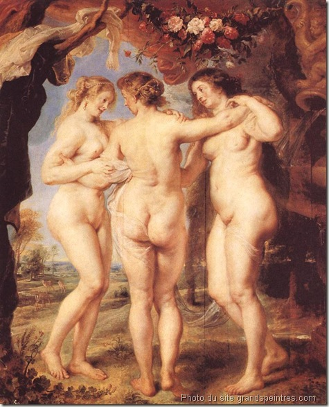 Les Trois Grâces rubens 1639