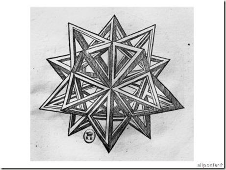 leonardo-da-vinci-dodecahedron-from-de-divina-proportione-by-luca-pacioli - www.wonderful-art.fr