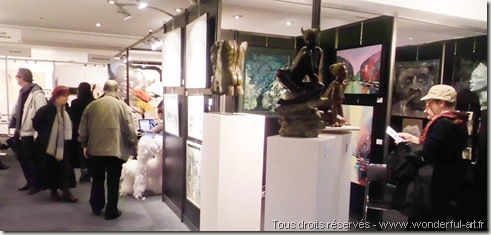 Espace Pierre Cardin-Salon Business Art-helene goddyn-www.wonderful-art.fr
