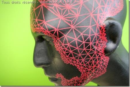 sculpture contemporaine - sculpture moderne - tete de mannequin - delta- emmanuelle prudhomme - www.wonderful-art.fr