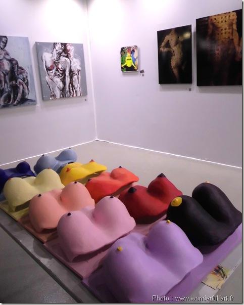 les 3 garces-les 3 grasses-art contemporain-art numerique-salon les hivernales de montreuil