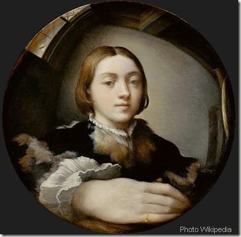 Anamorphose-Parmigianino_Selfportrait