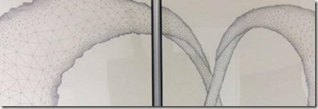 dessin contemporain_fractale_dessin triangle_infinity_emmanuelle prudhomme_salon artempo de cugnaux_wonderful art